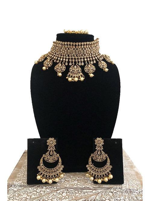 Nidra antique choker necklace