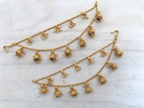 2 chain ear-chain/ saharay