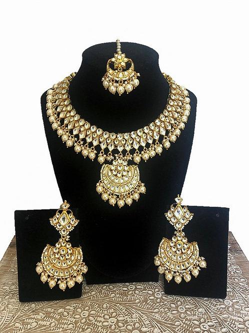 Devika kundan necklace