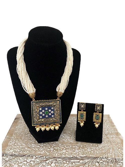 Mansi mala necklace