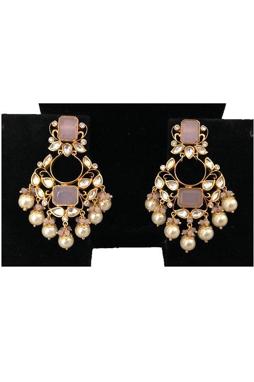Sweta pink earrings