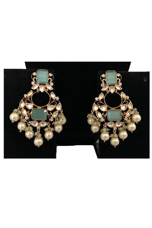 Sweta jade earrings