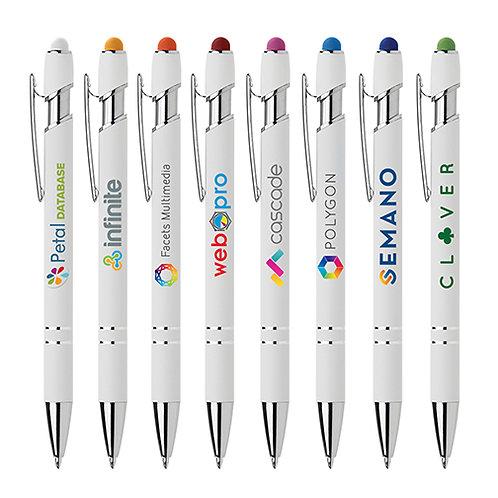 Kugelschreiber mit Touchpenfunktion und Druck inklusive