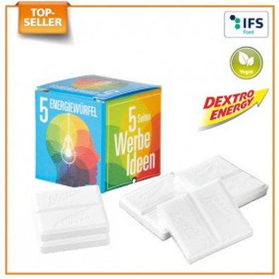 Mini Promo-Würfel mit Dextro Energy