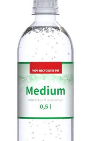 Mineralwasser 0.5L im Re-PET Sport Cap