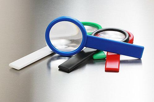 Handlupe Kunststoff mit Karton