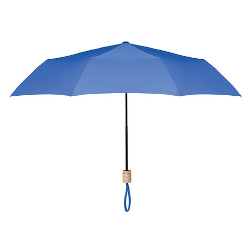 "21"""" faltbarer Schirm aus 190T RPET Pongee"