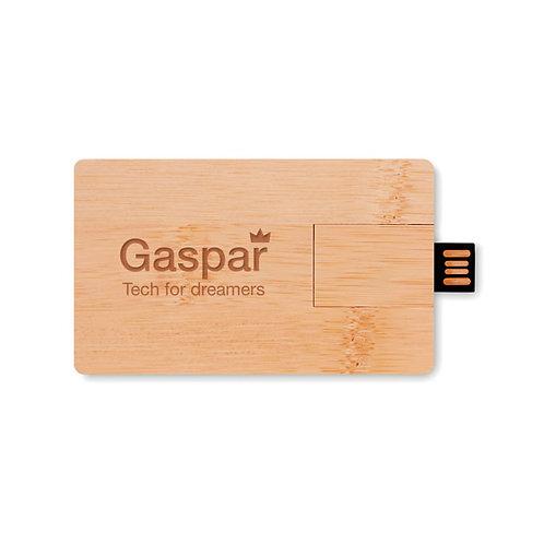 16GB USB Flash Drive aus Bambus