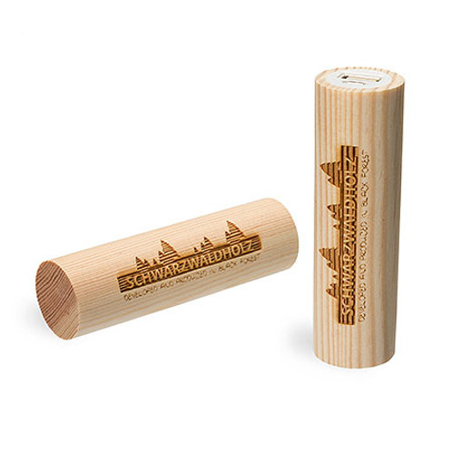 Holz Powerbank 2600 mAh