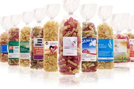 Werbenudeln, Promotional Pasta, Logopasta