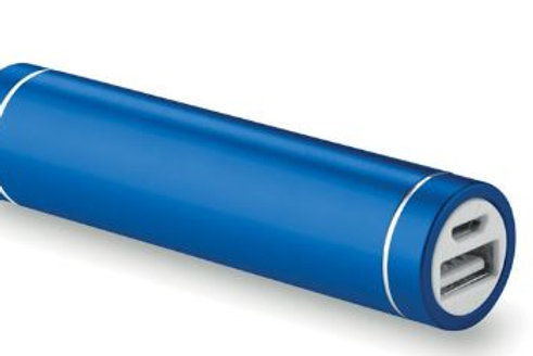 Powerbank zylinderförmig 2200 mAh