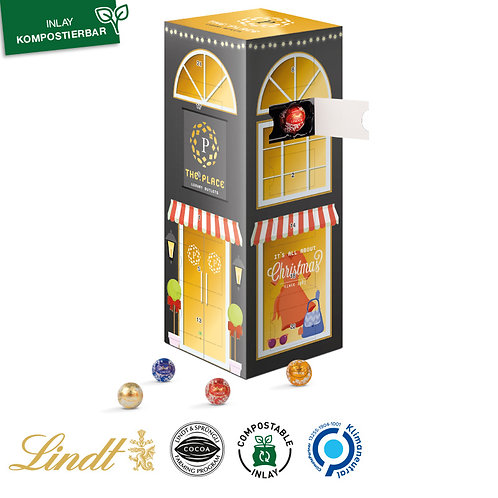 Mini Kugeln Tower Adventskalender Lindt