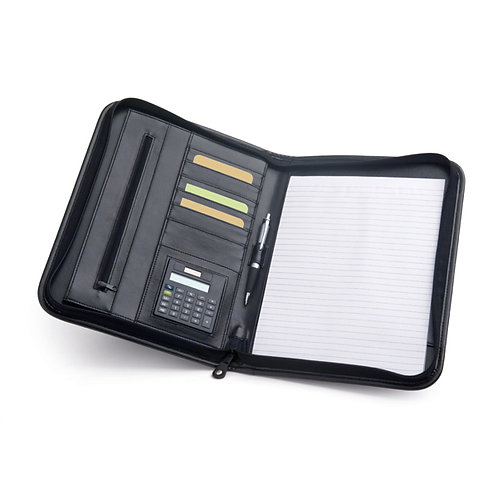 A4 Schreibmappe mit Taschenrechner