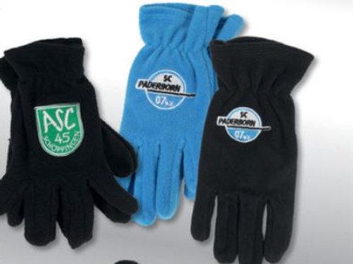 Fleece Handschuhe bestickt