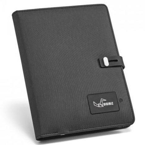 OSCAR. A5 Schreibmappe mit Powerbank