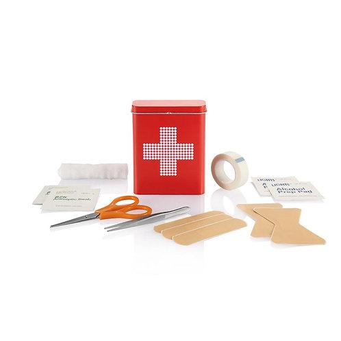Erste Hilfe Metallbox 18-tlg