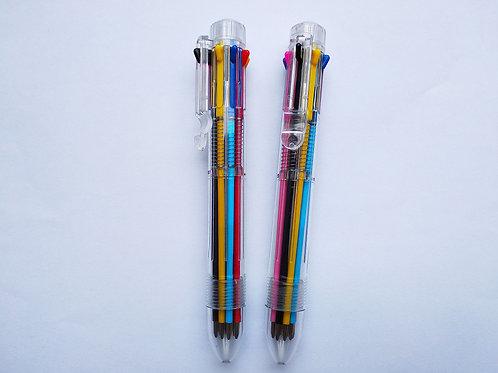 Kugelschreiber 8-farbig