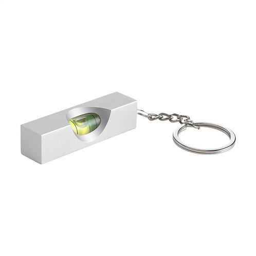 Schlüsselanhänger mit Wasserwage