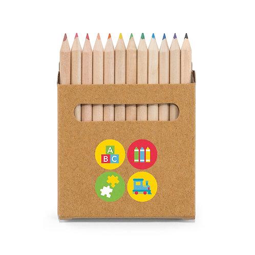 Buntstift Schachtel mit 12 Buntstiften