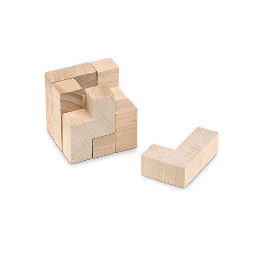 7-teiliges Puzzle aus Holz