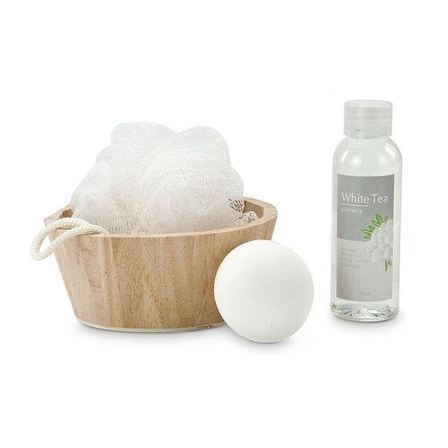 Wellness-Geschenkset: White in Balance