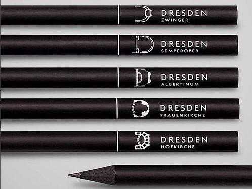schwarze Bleistifte: puristisch und edel