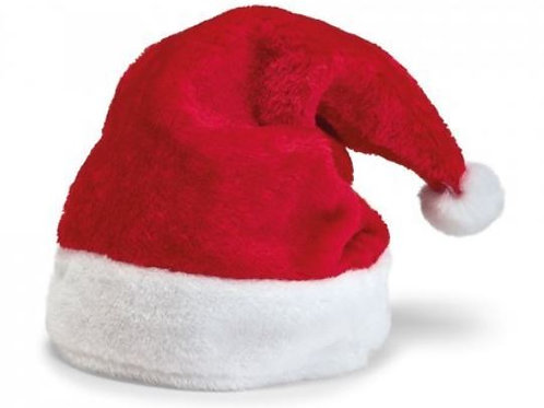 Weihnachtsmütze aus Polyester.