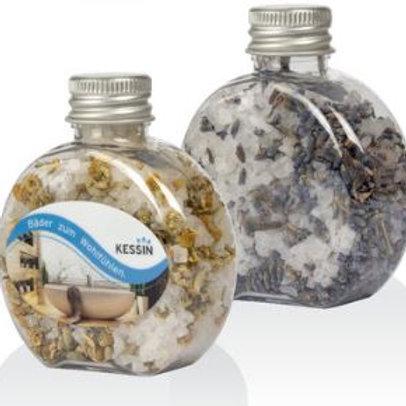 Badesalz aus dem toten Meer - Rundflasche