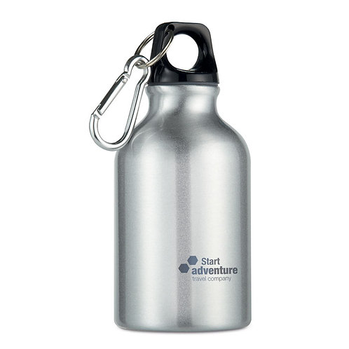 Einwandige Trinkflasche aus Aluminium, 300ml