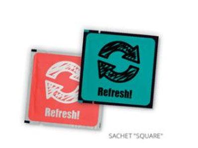 Sachets mit 3 Tüchern SQUARE