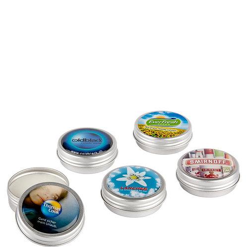 Lippenpflege im Alu Doschen