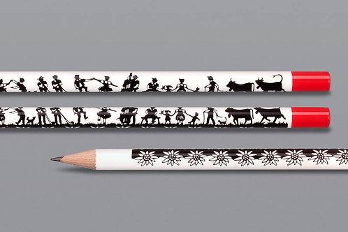 Lackierte Bleistifte mit Logo