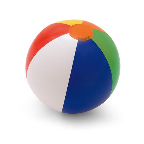Wasserball. Opakes PVC. Aufblasbarer Ball in verschiedenen Farben
