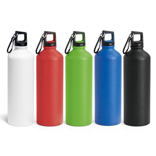 Trinkflasche mit Karabiner aus Aluminium