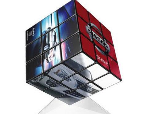 Rubik Würfel mit Ihrem Bild 3 x 3 (57 mm)