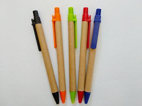 Papier Kugelschreiber