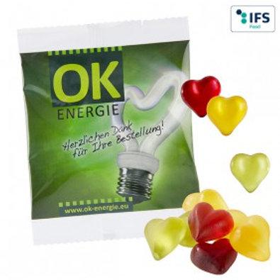 Fruchtgummi-Herzen 15gr