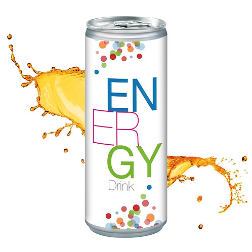 Energy Drink in der 250 ml Dose