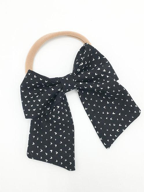 Dainty Heart Sailor Bow