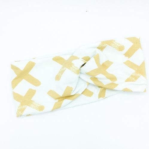 Yellow X Infinity Band
