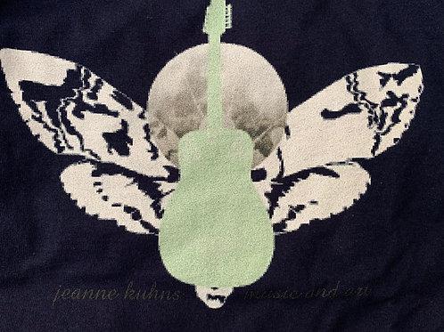 Jeanne Kuhns Tee- Moth Guitar Logo