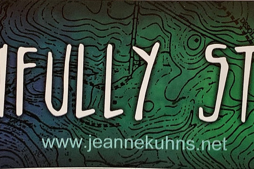 "Beautifully Strange Bumper Sticker 3"" x 11"""