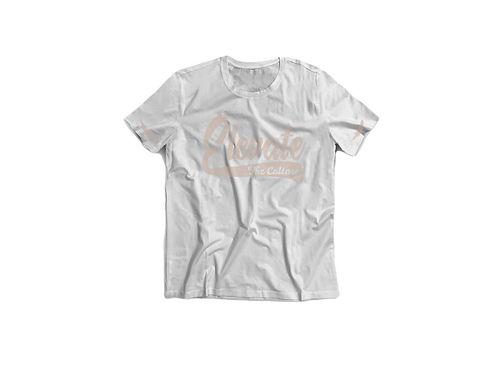 Elevate The Culture - White Short Sleeve