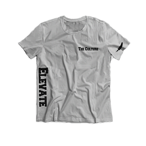 Grey/Black Elevate The Culture Short Sleeve