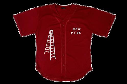 Vibin N Chillin Jersey - Red