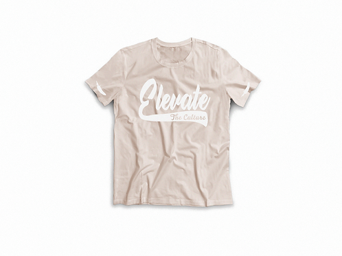 Elevate The Culture - Cream Short Sleeve