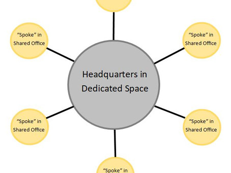 Surprising Side-Benefit of a Hub-and-Spoke Office Structure