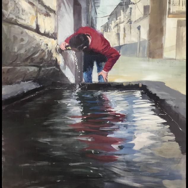 Premiado en el VIII Certamen de Pintura  «Ciudad de Alhama» (Granada).