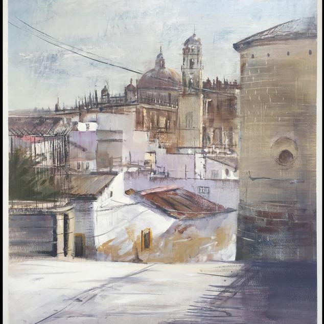 Premiado en el XVI Certamen de Pintura Fundador de Jerez de la Frontera (Cádiz).