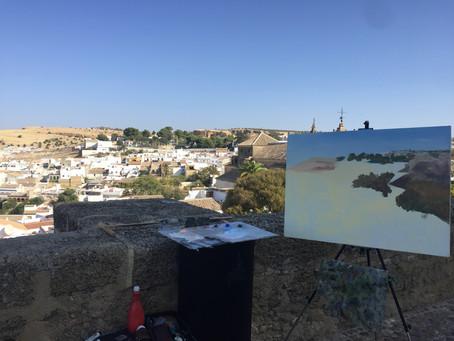 XV Concurso de Pintura Rápida 'Ciudad de Osuna' 2020 by  Paco Rojas.